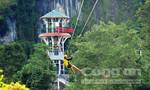 Công trình đu dây có 2 sợi cáp dài nhất Việt Nam