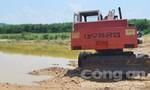 Máy xúc công trường lao xuống sông, một công nhân thiệt mạng