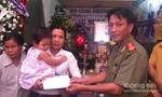 Báo Công an TPHCM chia sẻ cùng gia đình trinh sát bị tử nạn