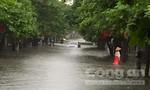 Mưa lớn gây ngập nặng nhiều tỉnh ở miền Bắc