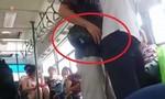Clip tên trộm móc túi trên xe buýt đông người
