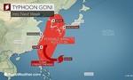 Hai siêu bão tiến vào châu Á