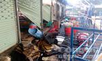 7 kiot chợ nông sản Thủ Đức bị cháy rụi