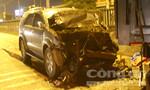 Bị ô tô tông khi thay lốp xe ben, 3 người thương vong