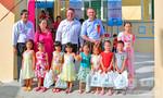 Thêm một ngôi trường cho trẻ em nghèo