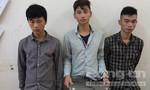 Ba thanh niên thực hiện 21 vụ trộm sa lưới