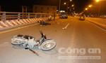 Đi ngược chiều gây tai nạn liên hoàn, hai người bị thương