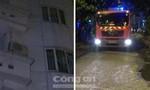 Clip: Giải cứu hai khách bị kẹt trong khách sạn đang cháy