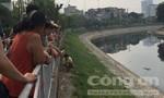 Phát hiện thi thể một người đàn ông trôi trên sông Tô Lịch