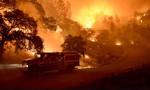 Đám cháy rừng kinh hoàng, đường cao tốc bị phong tỏa