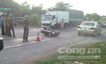 Va chạm xe tải, một người đàn ông tử vong