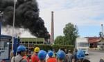 Cháy lớn trong một nhà máy hóa học tại Beauvais Pháp
