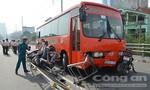 Tạm giữ hình sự tài xế lái xe Phương Trang tông 7 xe máy