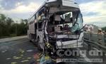 Xe giường nằm đâm đuôi xe tải, 1 người tử vong