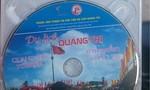 Thu hồi đĩa VCD in cờ Tổ quốc thiếu sao vàng