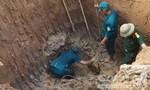 Phát hiện quả tên lửa nằm sâu dưới lòng đất