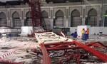 Cần cẩu sập ở Mecca, 107 người thiệt mạng