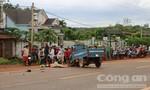Xe ba gác va chạm xe bồn chở xăng, một người tử vong