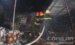 Cháy chợ Tứ Hạ, gần 100 gian hàng bị thiêu rụi