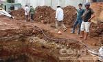 Hầm móng công trình sạt lở đè chết nam công nhân
