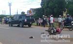 Xe máy cố vượt xe buýt, thiếu nữ 19 tuổi tử vong tại chỗ