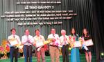 Báo Công an TP.HCM đoạt giải B cuộc thi sáng tác, quảng bá văn học nghệ thuật, báo chí