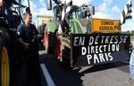 """Nông dân Pháp bao vây Paris vào ngày """"Thứ năm đen"""""""