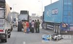 Nam thanh niên chết thảm dưới bánh xe container ngay trước cổng Suối Tiên