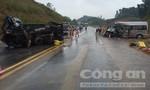 Xe khách va chạm xe tải trên cao tốc Nội Bài-Lào Cai,  nhiều người thương vong