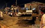 Nam thanh niên tử vong tại chỗ sau khi đâm vào xe tải chở tôn