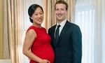 Hình bà xã mang thai của ông trùm facebook được yêu thích