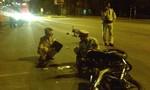 Xe máy đâm đứt lìa xe đạp điện, hai người nguy kịch