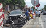 Tai nạn liên tiếp trên quốc lộ 1A khiến giao thông bị ách tắc