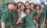 TPHCM: Tiễn hàng ngàn thanh niên nhập ngũ