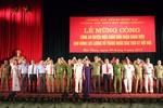 Công an Mộc Châu tổ chức lễ mừng công nhân dịp nhận danh hiệu Anh hùng lực lượng vũ trang nhân dân
