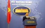 Việt Nam trao công hàm phản đối Trung Quốc bay thử ở Trường Sa