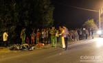 Bé gái 3 tuổi chết thảm dưới bánh xe tải