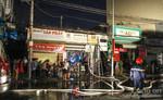 Cháy cửa hàng bán đồ điện, nhiều người dân hốt hoảng
