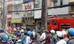 Cảnh sát dập tắt kịp thời đám cháy trong nhà 6 tầng ở Sài Gòn