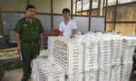 Bắt gần 15.000 bao thuốc lá ngoại nhập lậu