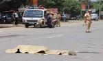 Bỏ chạy 6 km sau khi tông thiếu úy công an tử vong