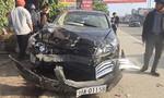Nguyên cán bộ huyện lái xe gây tai nạn liên hoàn, 3 học sinh nhập viện