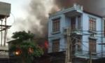 Cháy lớn nghi do chập điện gây thiệt hại hàng trăm triệu đồng