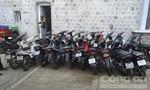 Bắt 4 đối tượng chuyên trộm cắp xe máy