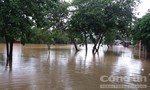 Mưa lớn, nhiều thôn xóm bị nước lũ cô lập