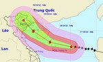 Bão Sarika giật cấp 17 hướng thẳng Quảng Ninh - Nam Định