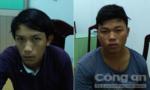 Bắt hai tên cướp điện thoại của nhân viên nhà xe