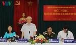Tổng Bí thư: 'Kiên quyết thực hiện cho được việc phòng chống tham nhũng'