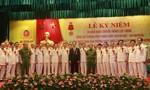 Cảnh sát PCCC đón nhận Huân chương Bảo vệ Tổ quốc hạng Nhất