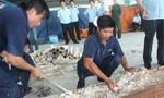 Lại phát hiện ngà voi được nhập lậu về cảng Cát Lái